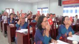 Đảng bộ Khối vận Đức Hòa tổ chức thành công Đại hội điểm Khối cơ quan
