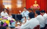 Nguyên Chủ tịch nước - Trương Tấn Sang đến thăm huyện Bến Lức