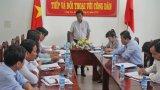 Chủ tịch UBND tỉnh Long An lắng nghe kiến nghị về đơn giá thuê đất khu mua sắm Đệ nhất Phan Khang