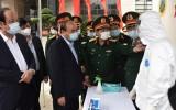 Thủ tướng: Quân đội là trụ cột quốc gia khi dịch dã, thiên tai