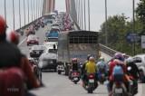 Sắp cấm ôtô tải 3 trục trở lên qua cầu Rạch Miễu vào ngày cuối tuần
