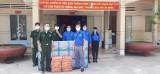 Thăm, động viên lực lượng phòng, chống dịch Covid - 19 trên tuyến biên giới