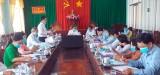 Phó Bí thư Thường trực Tỉnh ủy Long An – Nguyễn Văn Được kiểm tra công tác chuẩn bị Đại hội Đảng tại Tân Thạnh