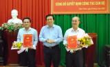 Tỉnh ủy Long An trao quyết định điều động, bổ nhiệm Bí thư Huyện ủy Châu Thành