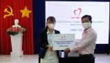 Quỹ Thiện Tâm trao tặng khẩu trang vải kháng khuẩn phục vụ phòng, chống dịch Covid-19