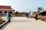 143 trường hợp cách ly tập trung ở Mộc Hóa được trở về nhà