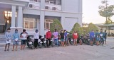 Đức Hòa: Chốt chặn, vây bắt nhóm thanh thiếu niên tụ tập đua xe trái phép
