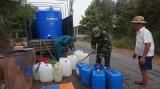 Long An được hỗ trợ 800 triệu đồng để cấp nước sinh hoạt cho người dân vùng hạn, mặn