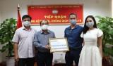 MTTQVN tỉnh Long An tiếp nhận thêm 350 triệu đồng ủng hộ phòng, chống dịch Covid-19