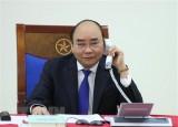 Thủ tướng Chính phủ Nguyễn Xuân Phúc điện đàm với Thủ tướng Australia