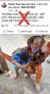 Công an bác tin bắt cóc trẻ em ở Bạc Liêu