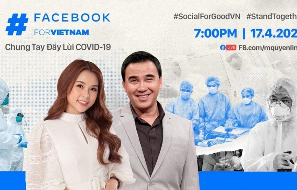 Chương trình sẽ được dẫn dắt bởi 2 MC Quyền Linh và Sam. (Nguồn: Facebook)