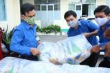 Thanh niên Sở Tài nguyên và Môi trường tặng quà hoàn cảnh khó khăn trong mùa dịch