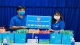 Thanh niên tặng 300 mặt nạ ngăn giọt bắn cho y, bác sĩ phòng, chống Covid-19