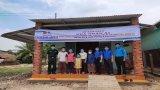 Huyện đoàn Đức Hòa trao nhà nhân ái tại huyện Đức Huệ