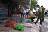 Đoàn liên ngành tỉnh Long An kiểm tra kinh doanh động vật hoang dã tại chợ Nông sản Thạnh Hóa