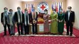 Việt Nam tặng thiết bị chống COVID-19 cho Hội chữ thập đỏ Campuchia