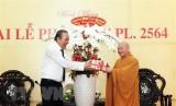 Phó Thủ tướng Thường trực Trương Hòa Bình chúc mừng Đại lễ Phật đản