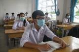 Long An vắng 2.101 học sinh ngày đầu toàn cấp THCS, THPT trở lại trường