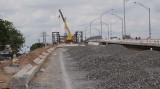 Cầu Tân An 4 đạt hơn 75% khối lượng công trình
