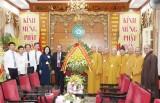 Phó Thủ tướng Thường trực chúc mừng Giáo hội Phật giáo