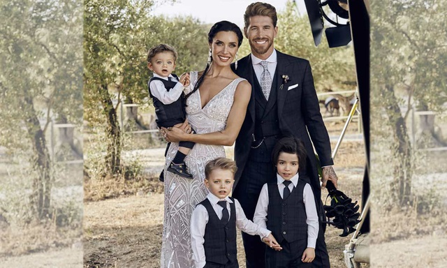 Mái ấm hạnh phúc của Sergio Ramos khiến nhiều người ngưỡng mộ