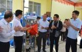 Ngân hàng BIDV tặng 34 máy lọc nước cho người dân Cần Giuộc và Cần Đước