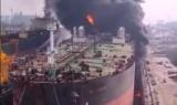 Hàng chục người vẫn mắc kẹt trong vụ cháy tàu chở dầu ở Indonesia