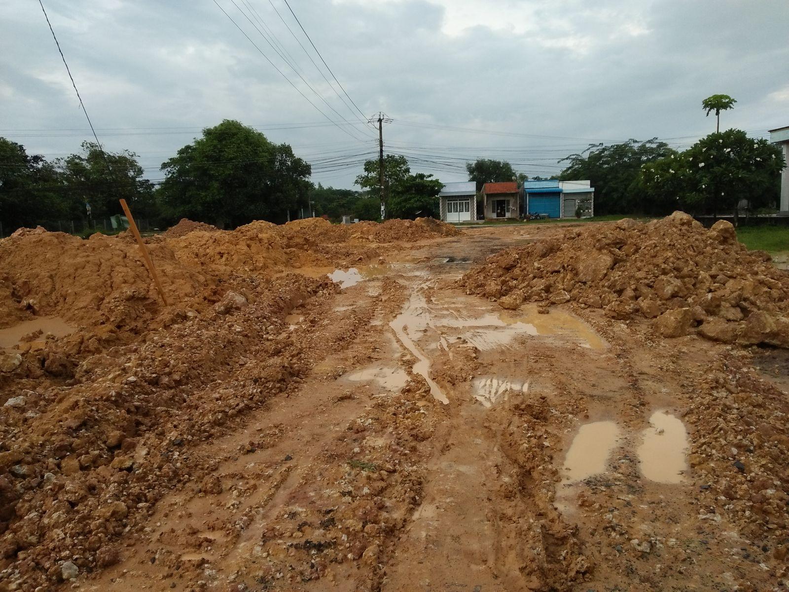 Thời gian qua, huyện tăng cường xử lý vi phạm trong lĩnh vực đất đai