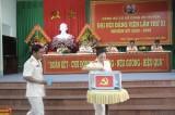 Thượng tá Mai Thành Lục tái đắc cử Bí thư Đảng ủy Công an huyện Châu Thành