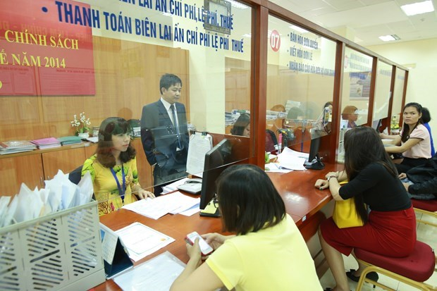 At a taxation office in Hanoi (Source: VNA)