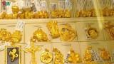 Giá vàng tiếp tục tăng nhẹ, vượt mốc 49 triệu đồng/lượng