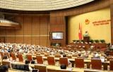 Kỳ họp thứ 9, Quốc hội khóa XIV: Trình Quốc hội hai dự án Luật