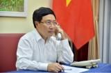 Bên cạnh hợp tác kinh tế, Việt Nam sẵn sàng cùng Ireland ứng phó Covid-19