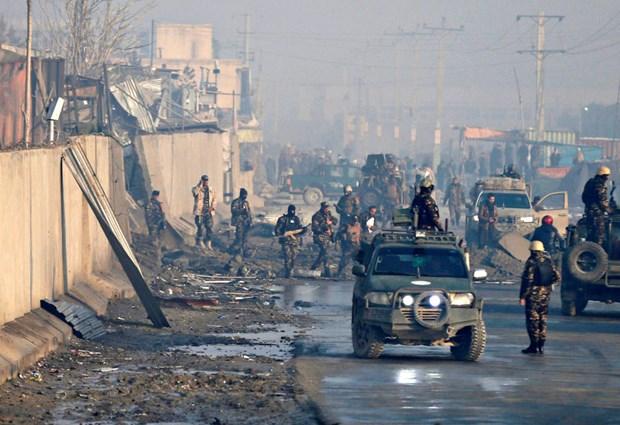 Một vụ tấn công của Taliban nhằm vào các lực lượng Afghanistan. (Ảnh: PBS)