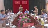 Kiến Tường: Ban Tuyên giáo Tỉnh ủy kiểm tra, khảo sát công tác tuyên truyền đại hội đảng bộ các cấp