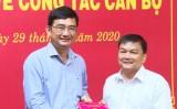Trao quyết định điều động Phó Giám đốc Quỹ Đầu tư phát triển tỉnh Long An