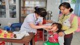 Long An đồng loạt bổ sung vi chất dinh dưỡng cho trẻ