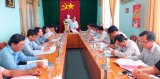 Thường trực HĐND tỉnh Long An khảo sát quản lý, sử dụng hầm đất tại Tân Thạnh