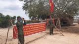 Tiếp tục duy trì các chốt phòng, chống Covid-19 trên tuyến biên giới