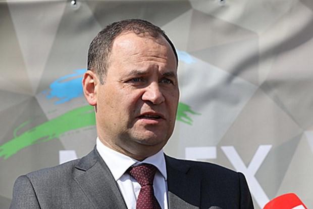 Ông Roman Golovchenko được chỉ định giữ chức Thủ tướng Belarus. (Nguồn: belarus.by)