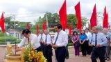 Long An: Dâng hương kỷ niệm 90 năm ngày hy sinh của đồng chí Châu Văn Liêm