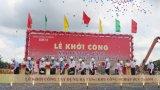 Long An: Khởi công xây dựng hạ tầng KCN Hựu Thạnh