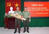 Phó Giám đốc Công an Long An được điều động giữ chức Phó Cục trưởng Cục Trang bị và kho vận