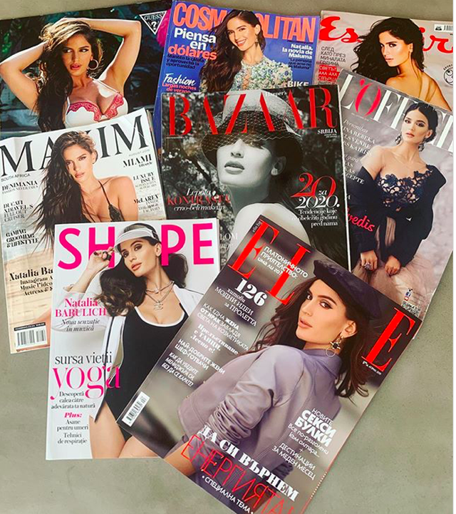 Bạn gái Neymar là một cái tên quen mặt của nhiều tạp chí nổi tiếng