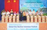 Ngân hàng Shinhan chung tay hỗ trợ đồng bào vùng hạn, mặn miền Tây