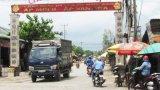 Xã Mỹ Hạnh Nam tập trung giải tỏa lấn chiếm hành lang an toàn đường bộ
