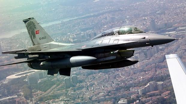 Máy bay chiến đấu của không quân Thổ Nhĩ Kỳ. (Ảnh: Carelyst)