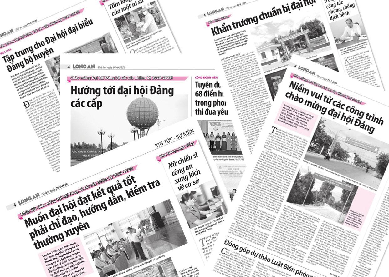 Báo chí góp phần quan trọng trong công tác tuyên truyền về đại hội Đảng bộ các cấp