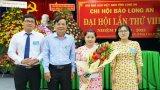 Nhà báo Nguyễn Thị Minh Tâm đắc cử Thư ký Chi hội Nhà báo Báo Long An